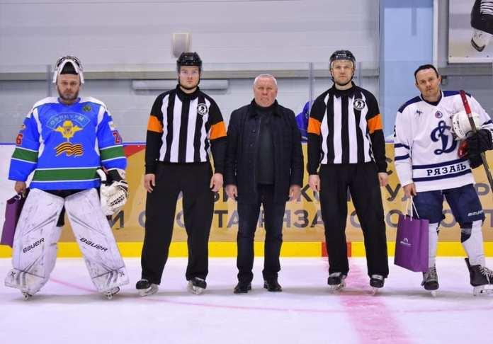 В Рязани открылся эксклюзивный региональный хоккейный турнир «Кубок памяти С. С. Козырева»