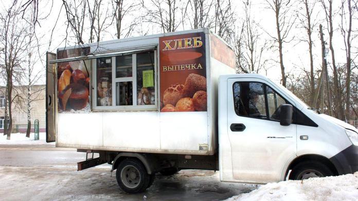 Хлебозавод №3 возобновил выездную торговлю в Рязани с марта