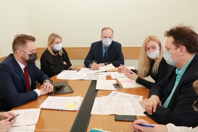 В Рязани обсудили благоустройство площадки рядом с «Кванториумом»
