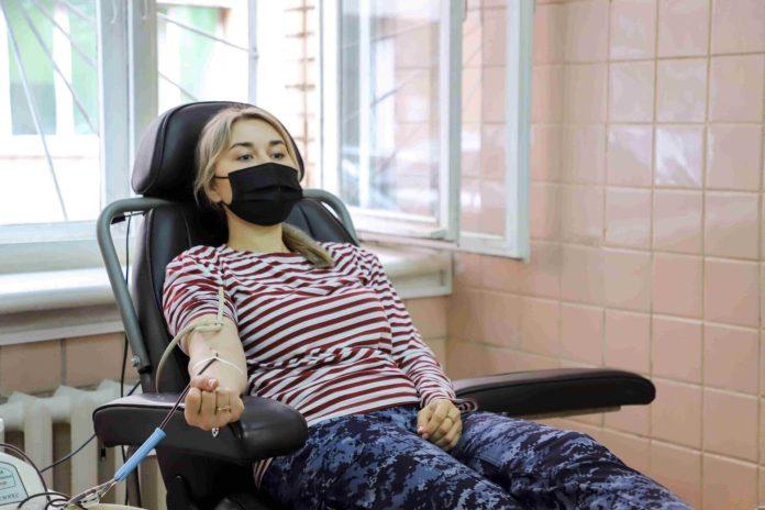 Рязанские сотрудники Росгвардии вновь стали донорами крови
