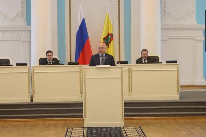 Контрольно-счётная палата Рязанской области отчиталась перед депутатами Облдумы