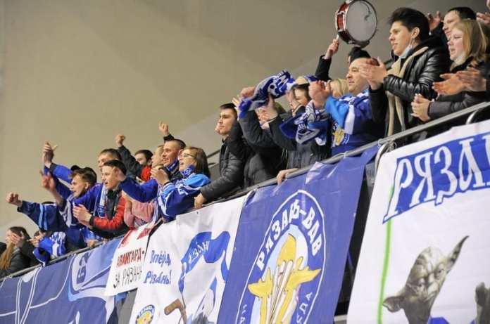 МХК «Рязань-ВДВ» впервые в истории оформил выход в полуфинал Кубка Регионов
