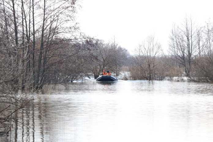 За сутки уровень воды в Оке в черте Рязани поднялся на 71 см