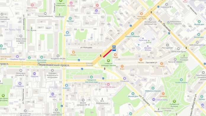 В Рязани перенесут остановку общественного транспорта «Площадь Ленина»