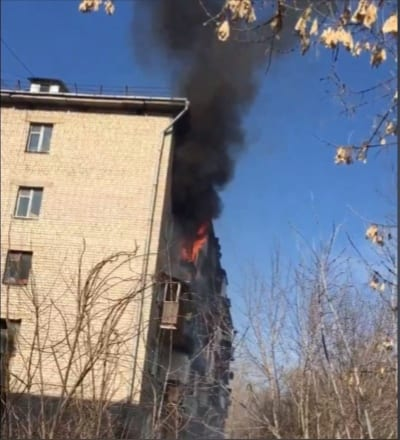 Появились подробности пожара в общежитии в Рязани