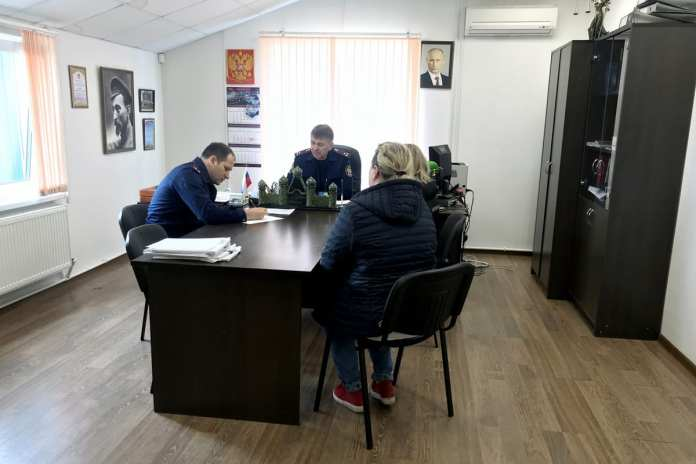 Заместитель руководителя регионального Следкома провёл приём граждан в Касимове