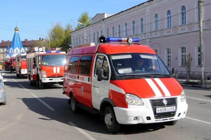 По Рязани пройдёт автопробег пожарной техники