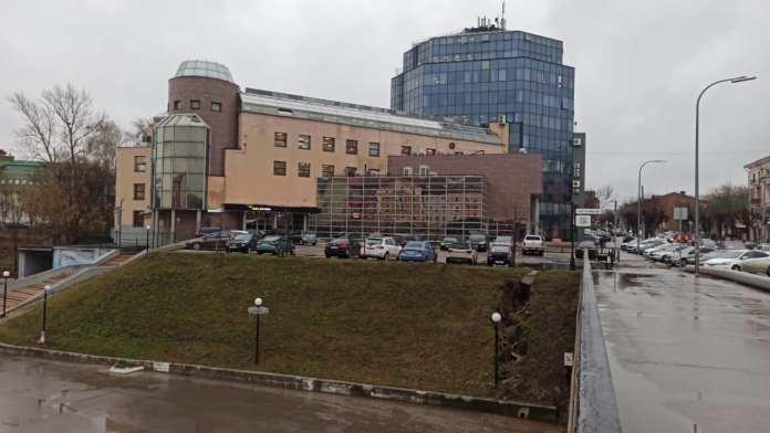 В Рязани размывает Лыбедский бульвар
