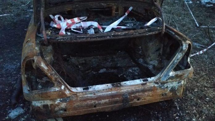 Сгоревший автомобиль обнаружили в рязанском Лесопарке