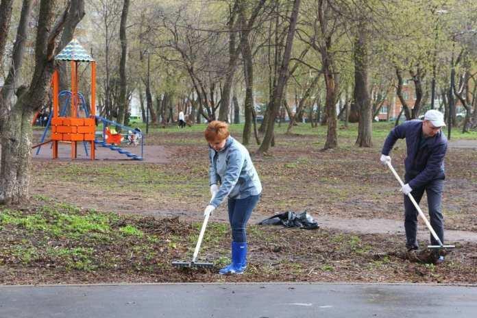 Елена Сорокина поблагодарила рязанцев за участие в субботнике