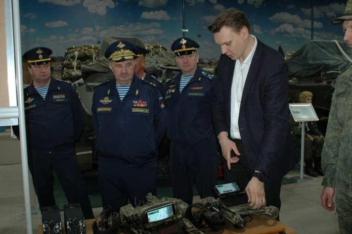 В Рязани открылась выставка «День инноваций Воздушно-десантных войск»