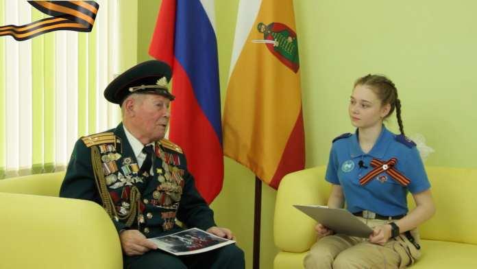 Ветеран ВОВ Герман Грибакин рассказал о событиях военных лет