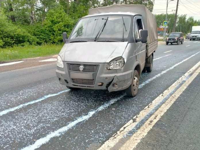 На М-5 в Рязани Газель насмерть сбила 29-летнего мужчину