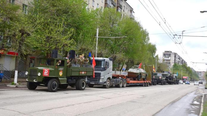В День Победы по рязанским улицам пройдет колонна мобильных бригад
