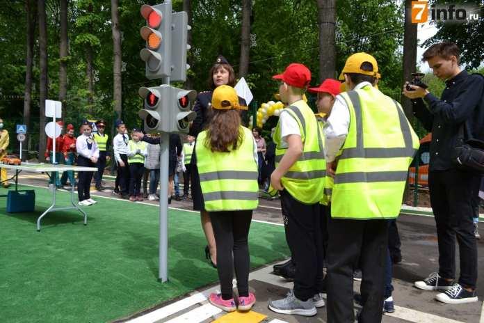 В Рязанском ЦПКиО открыли детский автогородок