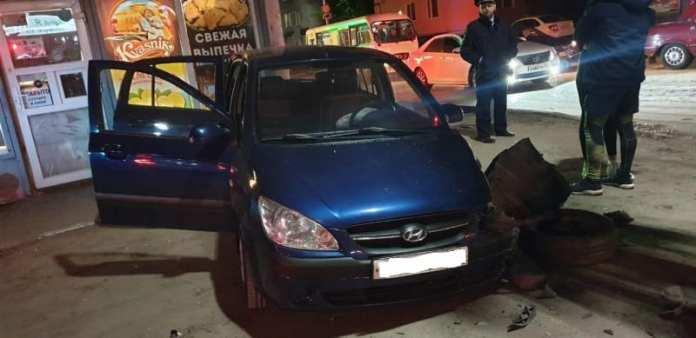 В ДТП с Hyundai Getz на Касимовском шоссе в Рязани пострадал человек
