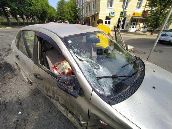 """Четырехлетний ребенок пострадал в аварии ГАЗели и """"Лады Калины"""" в рязанской горроще"""