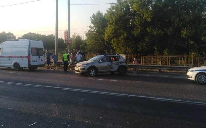Утром в Рязани произошло ДТП с пострадавшими