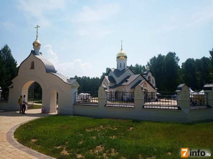 В Касимовском районе построен специальный храм для таинства венчания