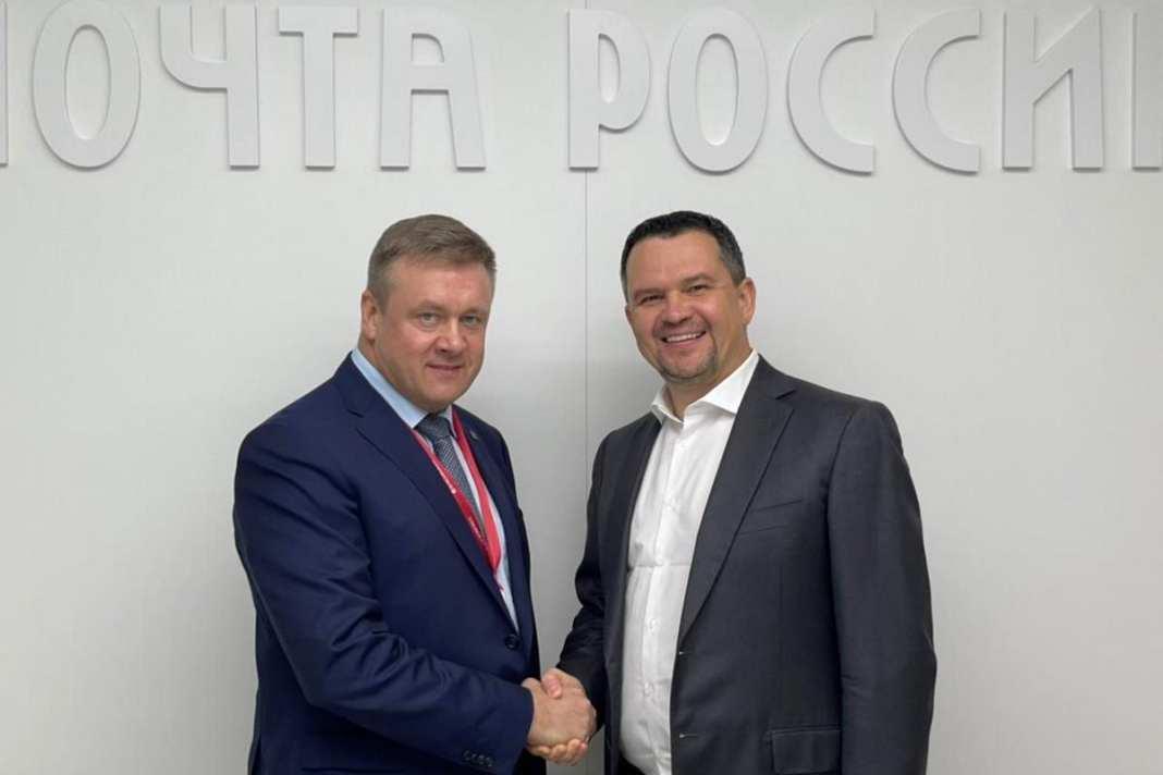 Николай Любимов провёл рабочую встречу с гендиректором «Почты России»