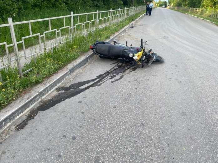 В ДТП в Рязанской области погиб мотоциклист