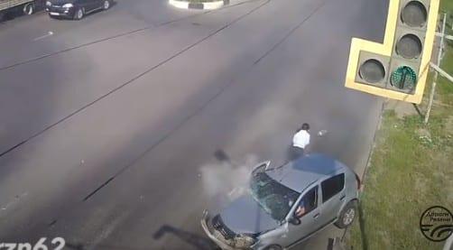 Последствия ДТП на Московском шоссе попали на видео