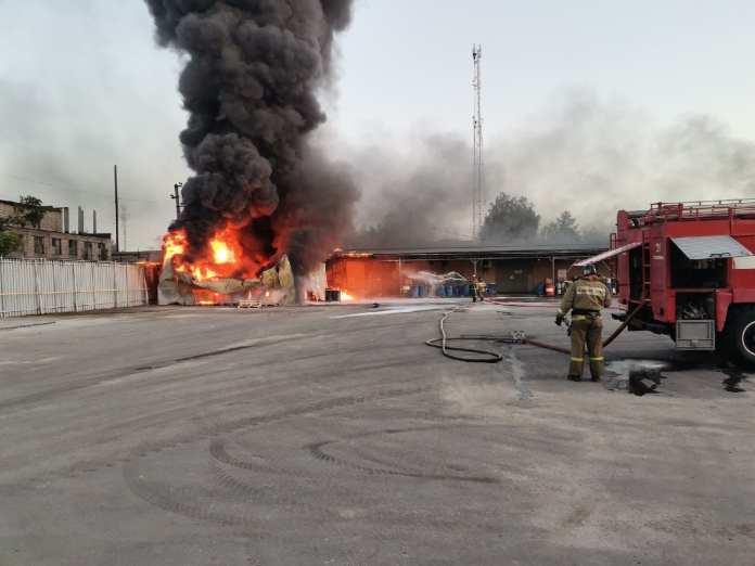 На пожаре в Рязанском районе пострадал 30-летний мужчина