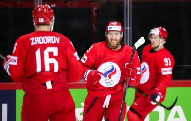 хоккей, сборная России