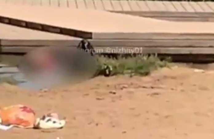 На пляже Нижнего Новгорода обнаружили труп