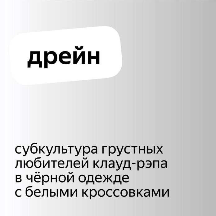 Яндекс рассказал о популярных новых словах, которые искали в поиске