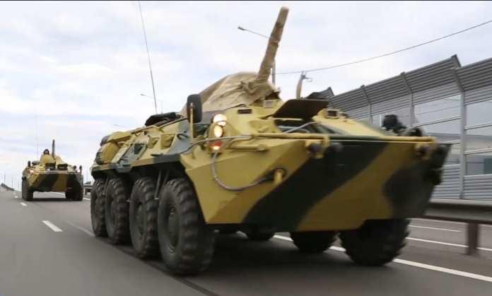 Воинские колонны проедут по дорогам Рязанской области