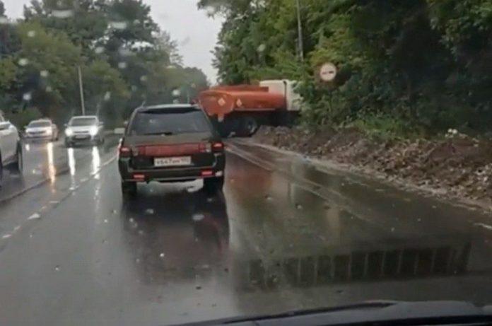 В ДТП с бензовозом в Рязани пострадал человек