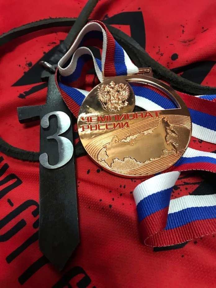 Команда из Рязанской области завоевала бронзу на Чемпионате России по стрельбе