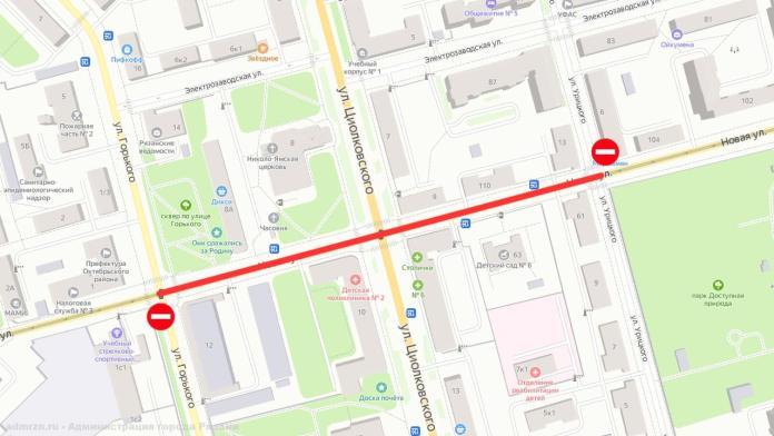 Из-за капремонта теплосетей на улице Новой в Рязани изменили маршруты некоторых автобусов