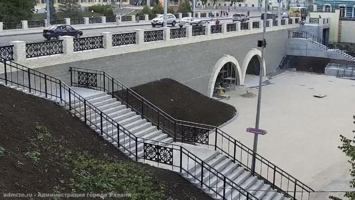 На Астраханском мосту на улице Ленина в Рязани завершили установку ограждения