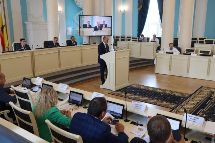 В Рязанской Облдуме рассмотрели вопросы развития строительной отрасли