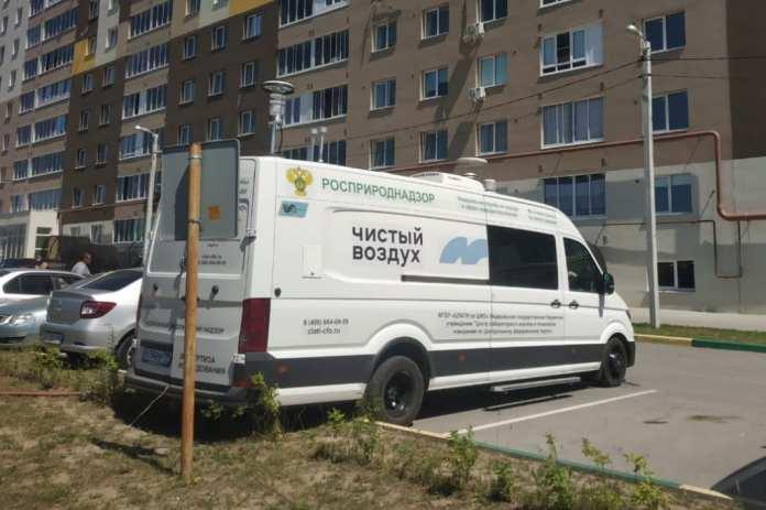 В Рязань приехала лаборатория Росприроднадзора из-за жалоб на качество воздуха