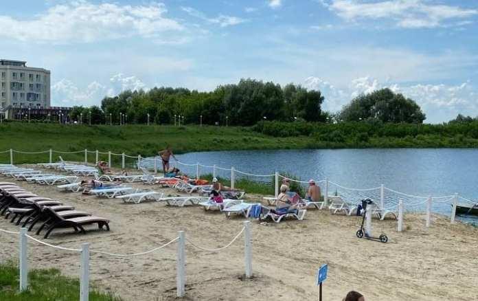 Пляж «Окской жемчужины» закрыт до 8 июля