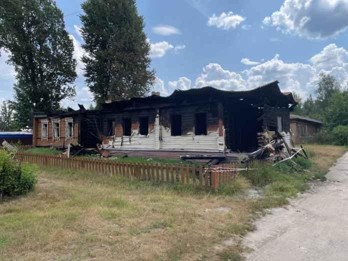 В селе Тюково Клепиковского района восстановят сгоревший ФАП