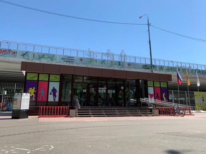 Центр уличного спорта в Рязани закрыли на генеральную уборку