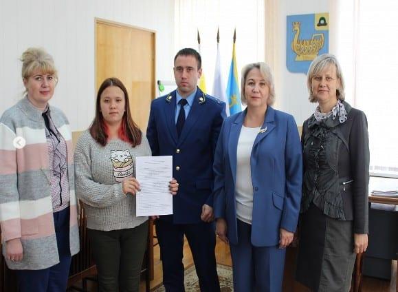 Сирота из Касимова получила квартиру после вмешательства прокуратуры