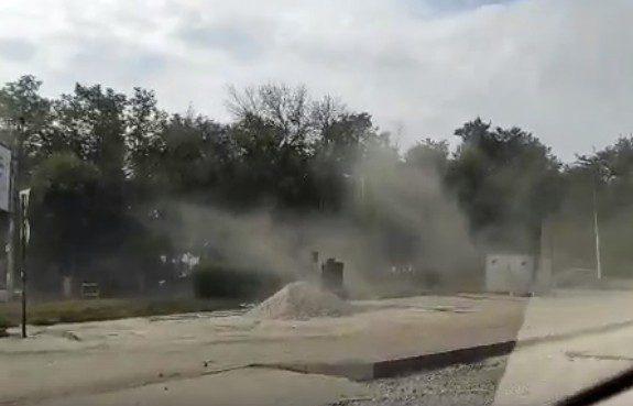 Рязанка пожаловалась на рабочих, устроивших пыльную бурю в центре города