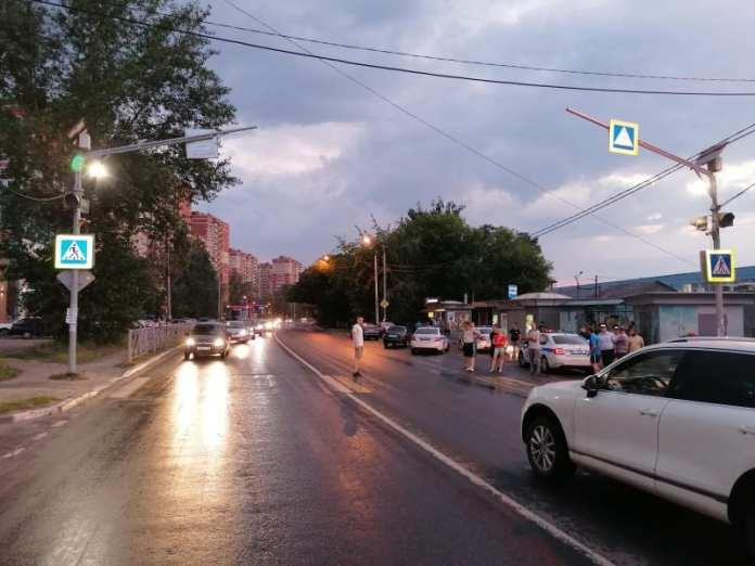 Пьяный рязанец на мотоцикле сбил женщину с 10-летним ребенком на Михайловском шоссе