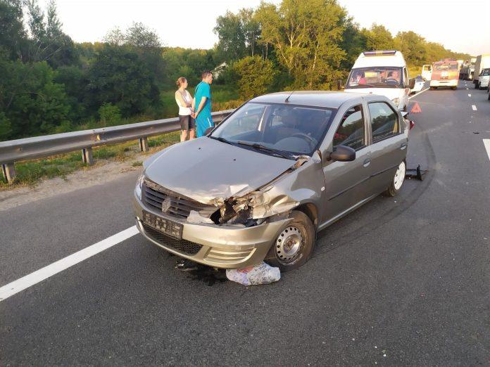 В ДТП в Рязанском районе пострадали три человека