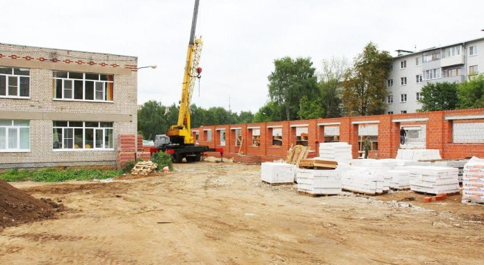 Елена Сорокина проверила строительство пристроек к детским садам