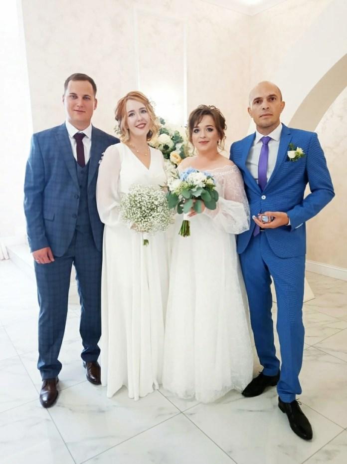Рязанский ЗАГС опубликовал фотографии свадеб 6 августа