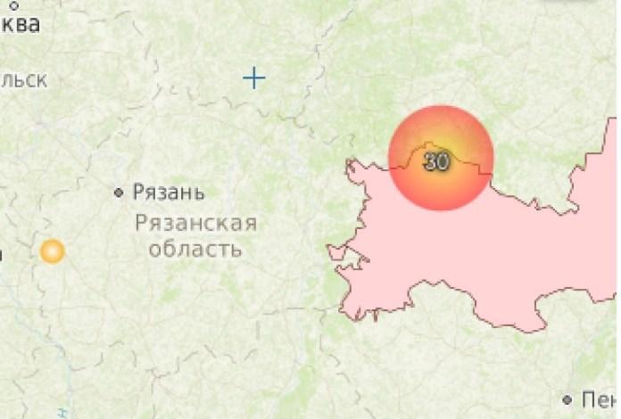 Касимов накрыло едким дымом из-за лесных пожаров в Мордовии