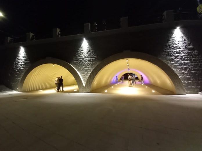 В Рязани полностью открыли проходы под Астраханским мостом