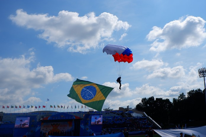 В Рязани торжественно открыли конкурсы Международных армейских игр