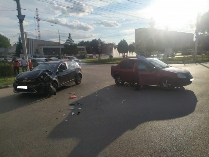 Три ребёнка пострадали в ДТП на Московском шоссе Рязани